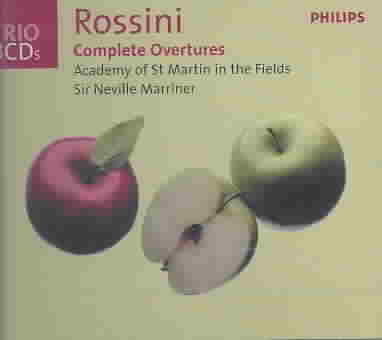 ROSSINI:COMPLETE OVERTURES BY ACADEMY OF ST. MARTI (CD)