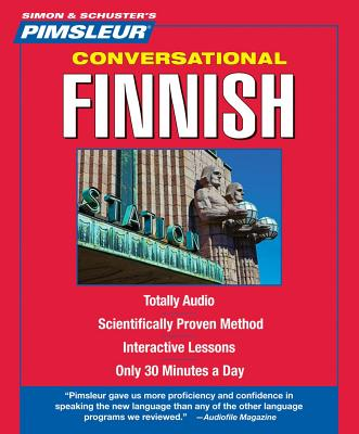[CD] Finnish, Conversational By Pimsleur (COR)